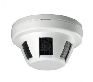 cámara oculta en detector de humo