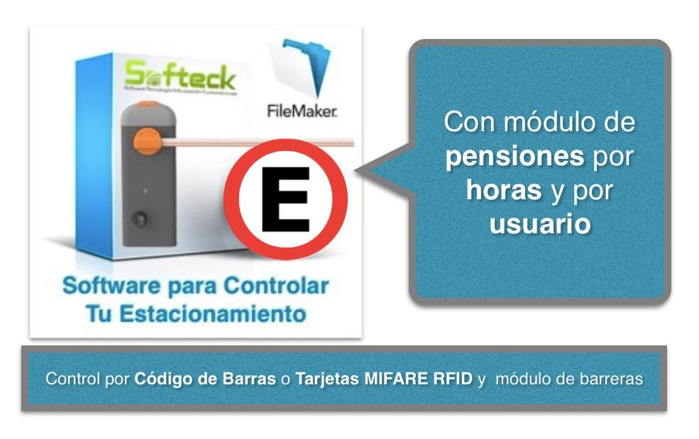 Software de Control de Estacionamientos con Módulo de Pensiones