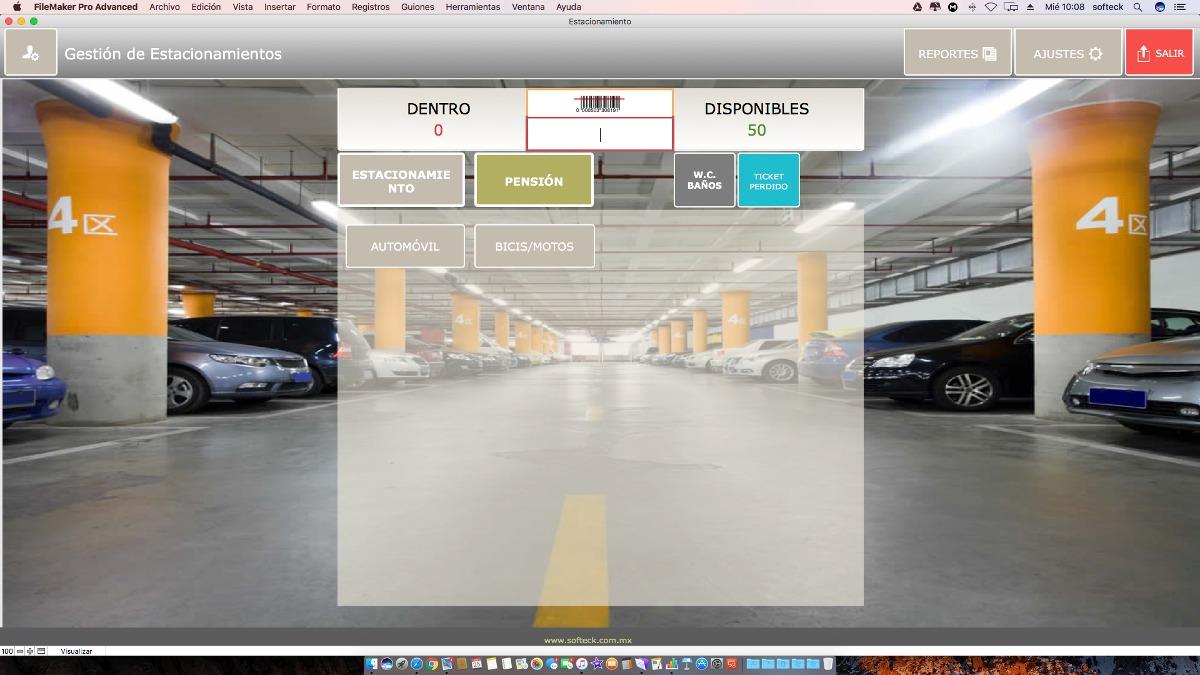 Software de Control de Estacionamiento