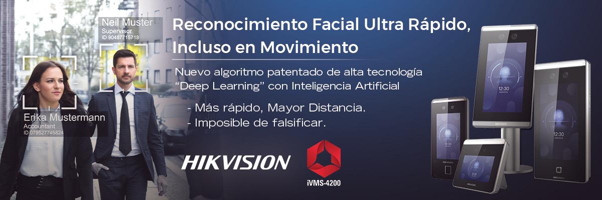 Utilice Reconocimiento Facial de Alta Seguridad para el acceso