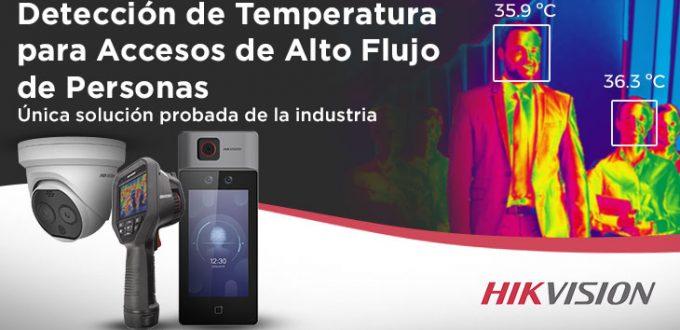 Detección de Temperatura para Acceso e Alto Flujo